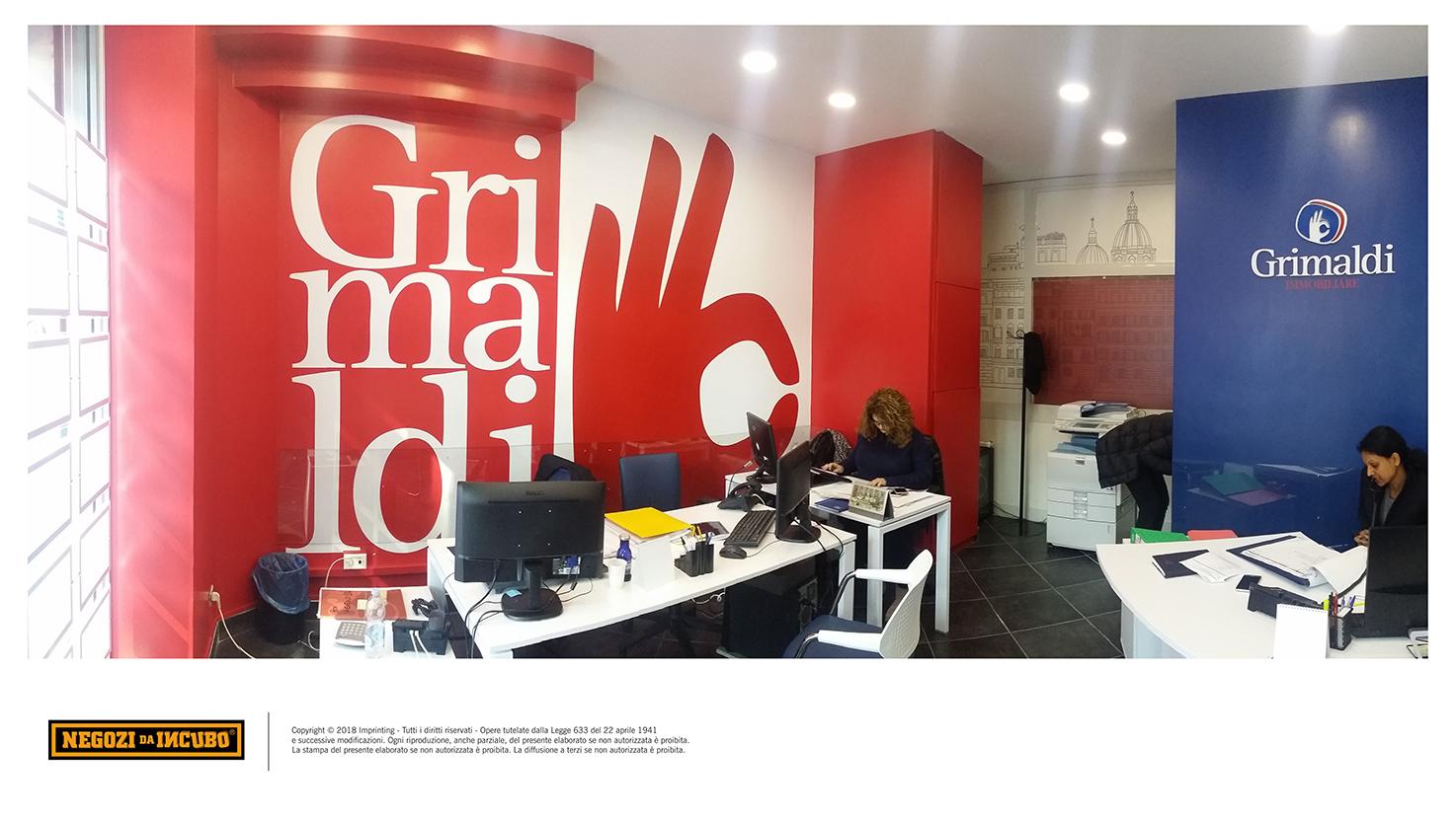 Grimaldi immobiliare restyling ristrutturazione locale for Grimaldi immobiliare