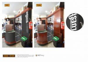 bar restyling ristrutturazione retrobanco ladispoli