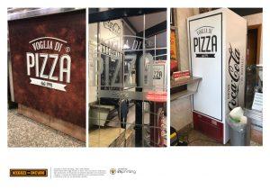 pizzeria pannello insegna acilia