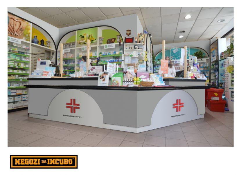 farmacia restyling ristrutturare