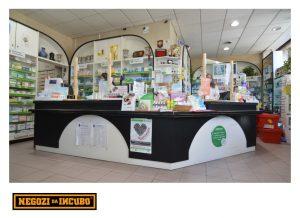 farmacia restyling ristrutturare bancone
