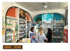 farmacia restyling ristrutturare espositore