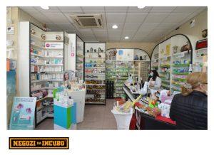 farmacia restyling ristrutturare vetrofanie