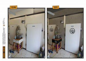 restyling macelleria cella frigo